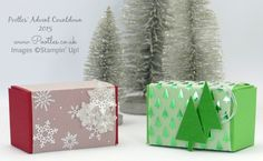 Pootles Advent Countdown #2 Vellum Wrapped Gift Box Tutorial
