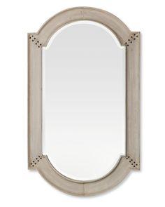 Antiqued Wooden Mirror | Williams-Sonoma