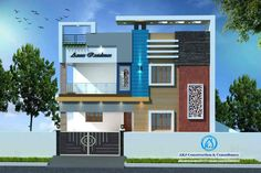 New Door Design, Flat House Design, House Balcony Design, House Outer Design, Single Floor House Design, 2 Storey House Design, House Outside Design, Modern Exterior House Designs, Home Stairs Design