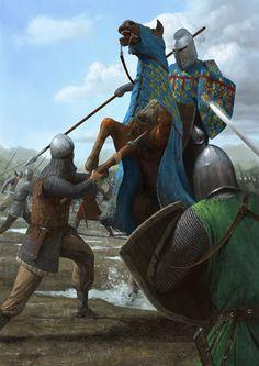 Battle of Courtrai by EthicallyChallenged.deviantart.com on @deviantART