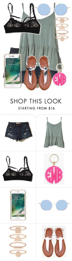 """""""What Should I Wear Today?"""" by madisoncorell ❤ liked on Polyvore featuring Hollister Co., Topshop, Hanky Panky, Moon and Lola, Griffin and Accessorize"""