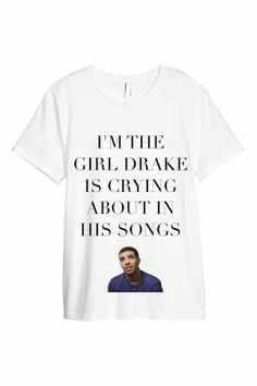 DRAKE TSHIRT by ROUKEYS on Etsy, €19.00