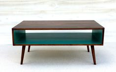 FREE SHIPPING The Slim: Handmade Coffee Table Mid Century