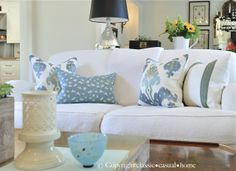 classic • casual • home: What You Need to Know About Slipcovers