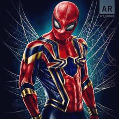 "677 Likes, 2 Comments - Marvel Entertainment (@marvel_entertainment) on Instagram: ""Golden Spider Man !!! The Legend ! . Follow @Marvel_entertainment for the best quality Marvel…"""