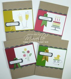 Marelle Taylor Stampin' Up! Demonstrator Sydney Australia: Embellished Events Stamp-a-Stack