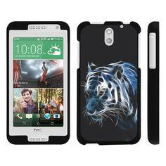 HTC Desire 610 Case SNAP SHELL 2 Piece Design Case - White Tiger