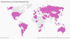 More than half of the world leaders have attended India's Republic Day parade.