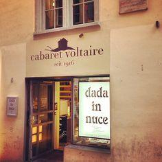 Cabaret Voltaire in Zürich, Zürich Cabaret, Cool Bars, Collages, Lighthouse, Switzerland, Destinations, Bucket, Graphics, Comics