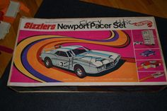 Mattel Hot Wheels Sizzlers Newport Pacer Parts 1969 Incomplete #HotWheels