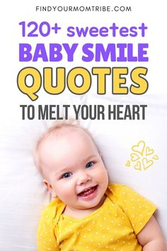 Over a hundred of the most heart-warming baby smile quotes to describe the wondrous smile of your baby boy or little girl. Newborn Baby Quotes, Cute Baby Quotes, Baby Girl Quotes, Second Baby, First Baby, Baby Captions, Welcome Baby Boys, Father And Baby, Baby Smiles