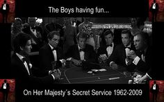 Boys Having Fun at Casino Royale / Montenegro /UK by James Bond Chile / 007 is a way of life, via Flickr