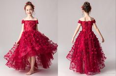 Cute 3D Floral Flower Lace Flower Girls Dresses For Wedding Hi Low Off The Shoulder Infant Cheap Juniors Bridesmaid Prom Formal Dresses Girls Dress Patterns Girls Summer Dresses From Stunningdress88, $60.31| DHgate.Com Girls Pageant Dresses, Girls Formal Dresses, Summer Dresses, Wedding Dresses, Lace Flower Girls, Flower Girl Dresses, Evening Dresses Online, Girl Dress Patterns, Princess Girl
