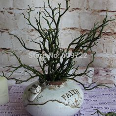 New Year 36cm Natural Wedding Home Beach Furniture Decor Dried Artificial Plant Tree Branches Stem Fake Foliage Green Fl1731 From Rainstoneinroad, $29.91   Dhgate.Com