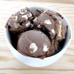 Tantalizing Rocky Road Ice Cream Recipe