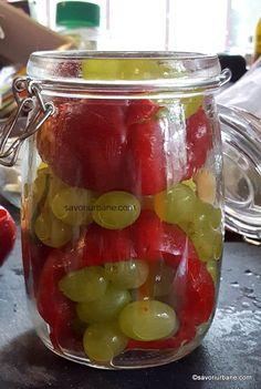 Romanian Food, Dessert Recipes, Desserts, Pickles, Mason Jars, Mugs, Tableware, Europe, Kitchens