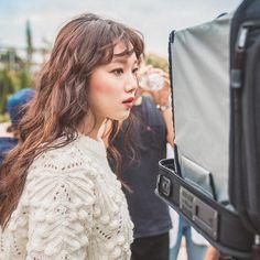 Korean Star, Korean Girl, Asian Girl, Kim Book, Lee Sung Kyung, Weightlifting Fairy Kim Bok Joo, Joo Hyuk, Fashion Poses, Korean Model