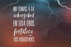 Dios no te ha dado espíritu de cobardía. Camina firme que Él no te soltará y usará ese tiempo para sacar lo mejor de ti. #manáparaelalma #proceso #adversidad #fe #Dios #cristo #perseverancia #fortaleza #prueba