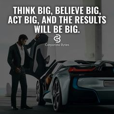 What's the point of thinking if you're not thinking BIG. Hustle Quotes, Motivational Quotes For Life, True Quotes, Positive Quotes, Inspirational Quotes, Swag Quotes, Qoutes, Mindset Quotes, Leadership Quotes