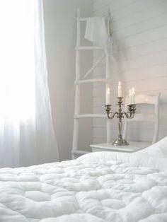 Fluffy White Quilt