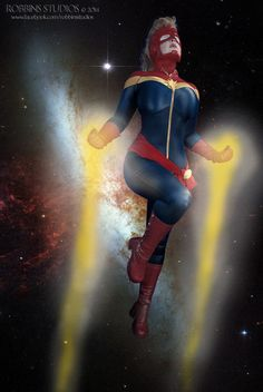Heads up, Carol Corp! I'll be getting this image made into a poster, which I will be selling at Rocky Mountain Con. ALL profits of this poster will be going to Aurora Rise - a great charity for a. Captain Marvel Costume, Crazy Costumes, Thats The Way, Pick One, Rocky Mountains, Charity, Dress Up, Wonder Woman, Cosplay