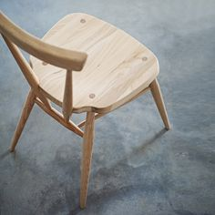 Buy Lookbooks > Home > Ercol Stacking Chair - Natural from The White Company