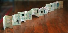Book Arts projects by Eve Faulkes, via Behance