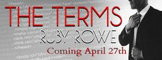 #CoverReveal / Giveaway  The Terms by Ruby Rowe   Title:The Terms: Part One  Series:The Terms Duet  Author:Ruby Rowe  Genres:Romantic Suspense Erotica Romance BDSM  Cover Model: Alfie Gabriel  Photographer: Pink Ink Designsby Cassy  Cover Design:Jo-Anna at Just write. Creations  Release Date:April 27 2017      I wanted to hate her. For three years Camilla withheld the fact that my brother had a son Liam. Then Tony died without ever knowing his kid and I was going to make sure Ms. Rose paid a…