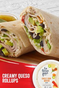 Pack this wrap into your lunchbox for a tasty, mildly spicy lunch anywhere, or enjoy as an afternoon snack for a lively, healthful and filling snack alternative. Chile, Filling Snacks, Sandwich Ideas, Taste And See, Sliced Turkey, Sunday Suppers, Wrap Sandwiches, Afternoon Snacks, Weeknight Dinners