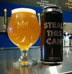 Steal This Can by Lord Hobo Brewing ~ Beer Advocate