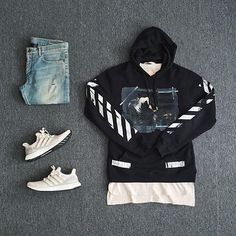 Modern Street Fit #offwhite #fashion #clothing