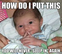 geeky meme - how do i put this baby