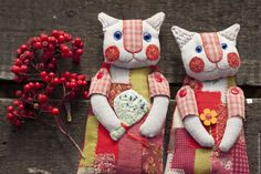 VK is the largest European social network with more than 100 million active users. Doll Crafts, Sewing Crafts, Diy Crochet Accessories, Diy Crochet Doll, Fabric Toys, Felt Cat, Cat Doll, Cat Colors, Doll Clothes Patterns