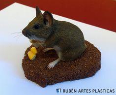 Rubén Artes Plásticas: MAQUETAS DE MICROMAMÍFEROS