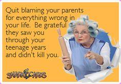 QUIT BLAMING YOUR PARENTS FOR ... - http://www.razmtaz.com/quit-blaming-your-parents-for/