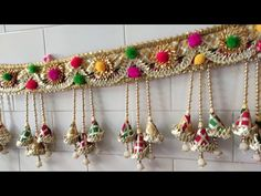 Rose Crafts, Diy Home Crafts, Flower Crafts, Diwali Decorations At Home, Door Hanging Decorations, Diwali Craft, Diwali Diy, Basic Mehndi Designs, Thali Decoration Ideas