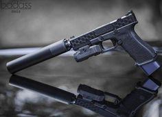 Ohhh yes. The @ZevTech Z17 with @Griffin_Armament's Rev 9 Suppressor & @Inforce01 APL Light. Such a fun and reliable handgun 🔥 • Follow Us 👇 @ExclusiveStangs @Motorhead @SomeUtahn @theknifeclub @BadassMedia @BadassMachines - #weaponsdaily #sickguns #mer