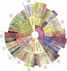 コーヒーの風味を表現するのに使われるアメリカのスペシャルティコーヒー協会が出している「フレーバーホイール」。豆の生産者、焙煎者、バリスタ、消費者をつなぐこの共通ルールについてコーヒーショップ「WOODBERRY COFFEE ROASTERS」のオーナーに話を聞いた。