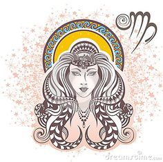 Virgo. Zodiac sign