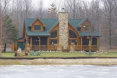 Log Home Photos | Sleepy Hollow Home Tour › Expedition Log Homes, LLC