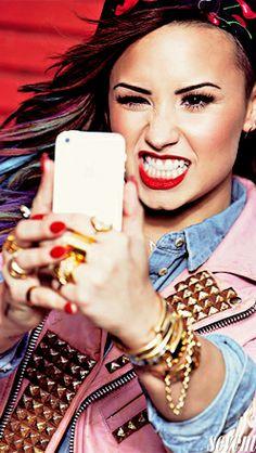 Demi on Seventeen Mag 2014 #8