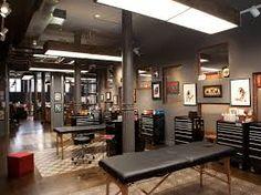 tattoo studio interior design - Google Search
