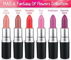 MAC A Fantasy of Flowers Lipsticks for Spring 2014