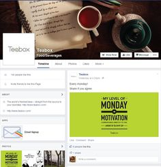 Teabox fb page