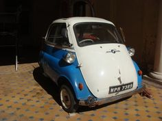 BMW Vintage 1950's Isetta in a central India Palace  by GalleryLF