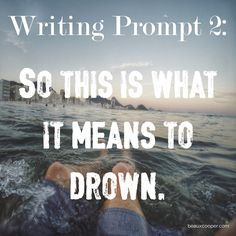 Writing Prompt Two -  Now accepting submissions for ANY writing prompt on…