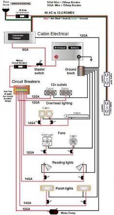 Teardrop camper    wiring    schematic   duane   Pinterest