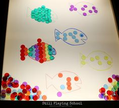 Still Playing School: Fish Color Matching on the Light Table