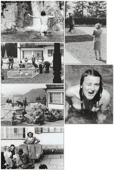 Nazi Germany — fuehrerbefehl: Eva Braun photo montage.
