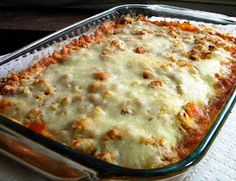 Mystery Lovers' Kitchen: Easy Chicken Parmesan Casserole from Cleo Coyle. Would need a gluten-free alternative to the croutons. I will try crushed rice chex or gluten-free croutons.